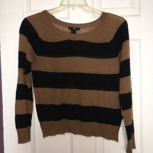 H & M Stripped Sweater